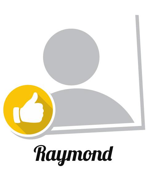 Raymond's success story