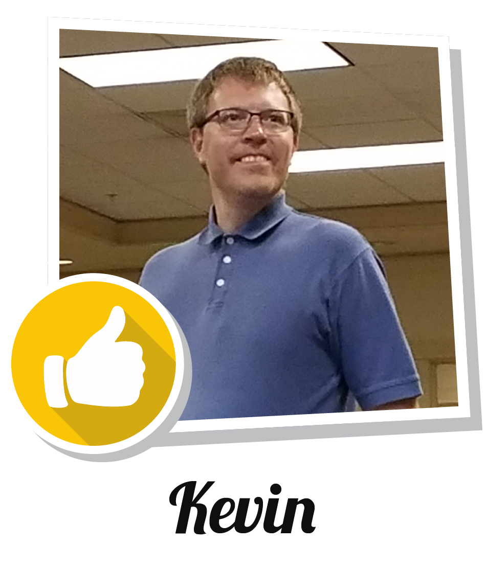 Kevin's success story
