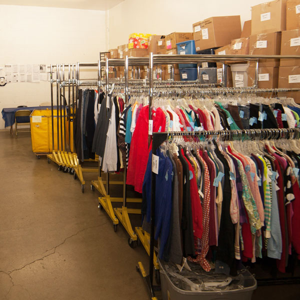 donations warehouse